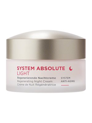 Night cream light antiage  SystemAbsolute Annemarie Börlind