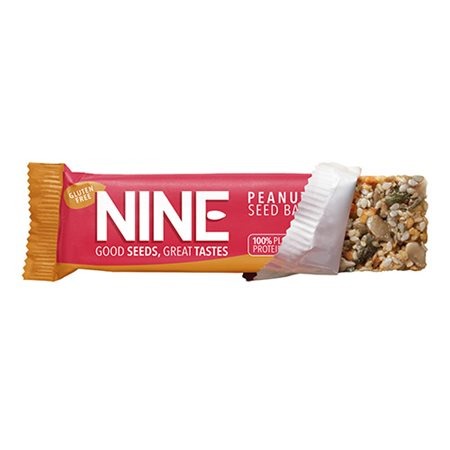 NINE bar - Peanut & Græskar