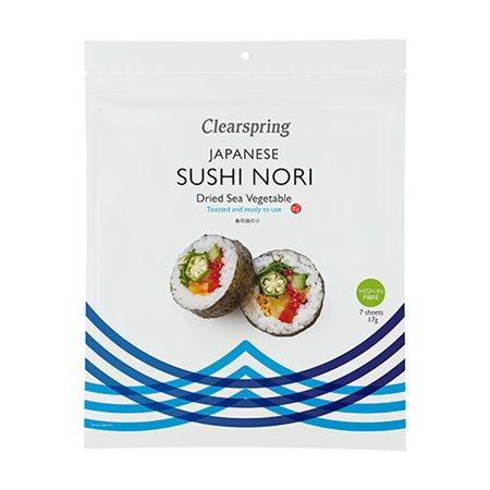 Nori sushi plader rister