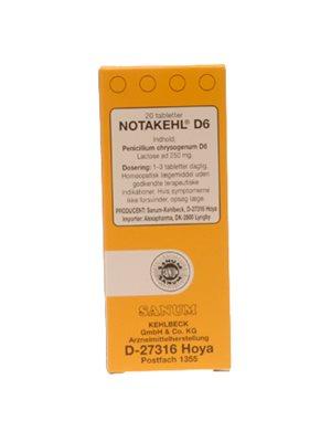 Notakehl tabletter