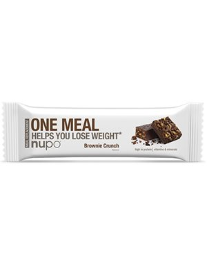 Nupo meal bar brownie crunch