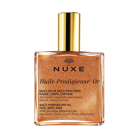 Nuxe Huile Prodigiuse Guldolie guld