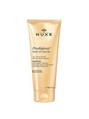 Nuxe prodigiex shower oil