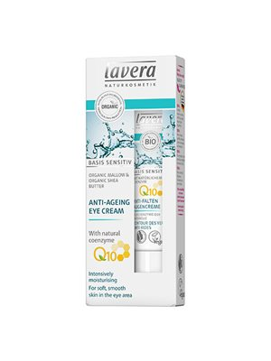 Øjencreme Q10 Anti-Age Lavera Basis sensitiv