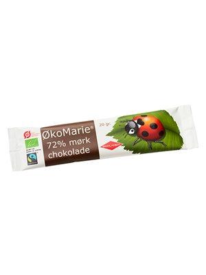 ØkoMarie 72% Mørk Chokolade Ø