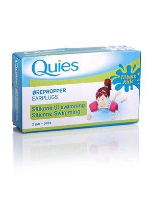 Ørepropper børn 3 par Ørepropper af vandtæt silikone til børn