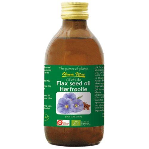 Billede af Oil of life Hørfrøolie Ø ren