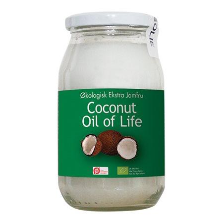 Oil of life Kokosolie ren Ø jomfru
