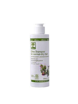 Oliven shampo normal tørt  hår Bioselect BioEco