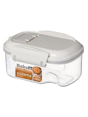 Opbevaringsboks 285 ml Transparent. Mini Bakery Sistema