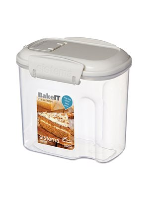Opbevaringsboks 645 ml Transparent. Mini Bakery Sistema