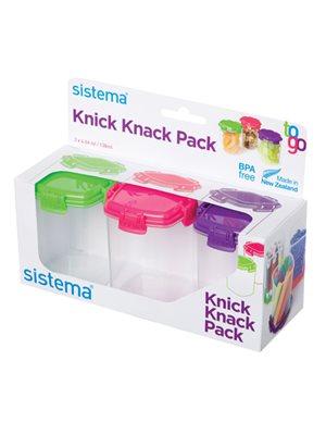 Opbevaringsboks Knick Knack  medium Sistema
