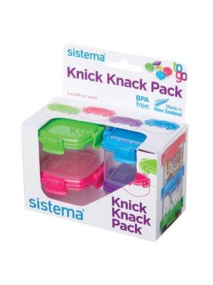 Opbevaringsboks knick knack  mini Sistema