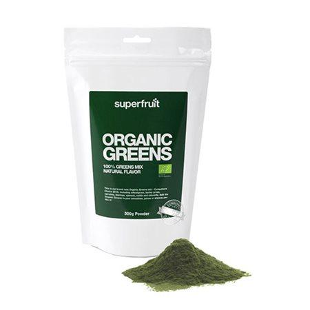 Organic greens pulver Ø Superfruit