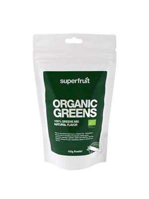 Organic greens pulvermix Ø Superfruit