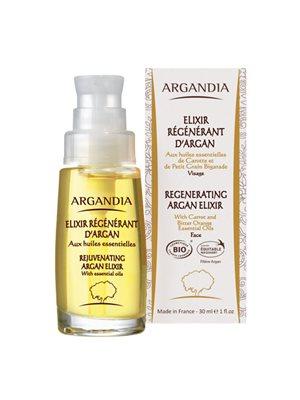 Organic Regenerating Argan  elixir  ARGANDIA