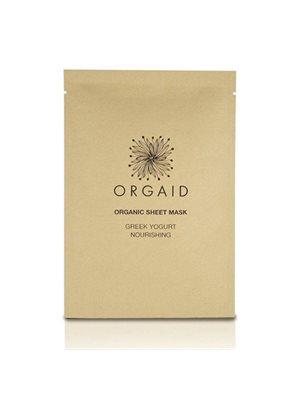 Organic Sheet Mask Greek Yogurt Nourishing Orgaid