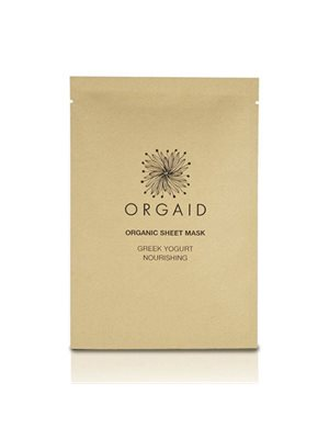 Organic Sheet Mask Greek Yogurt Nourishing Orgaid