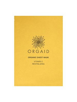 Organic Sheet Mask Vitamin C Revitalizing Orgaid