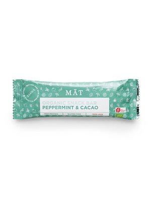 Organic snack bar Ø m. Cacao & peppermint
