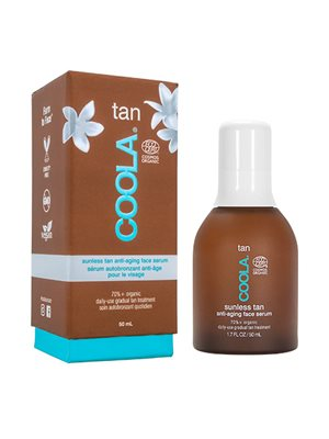 Organic Sunless Tan Anti-Aging Face Serum - Coola
