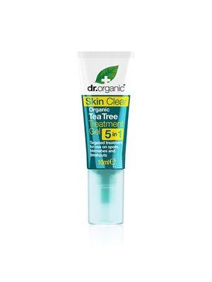 Organic tea tree treatment gel Dr. Organic Skin Clear