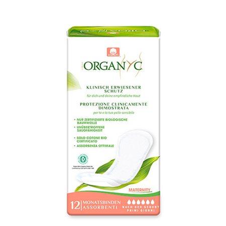 Organyc efterfødselsbind 12 stk