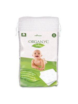 Organyc engangsvaskeklude Baby