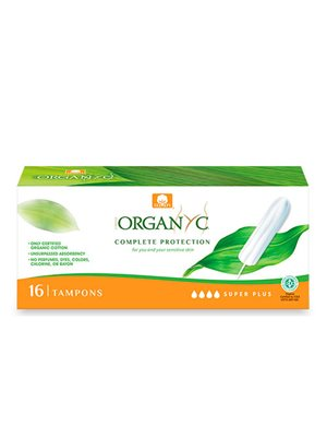 Organyc tampon super plus