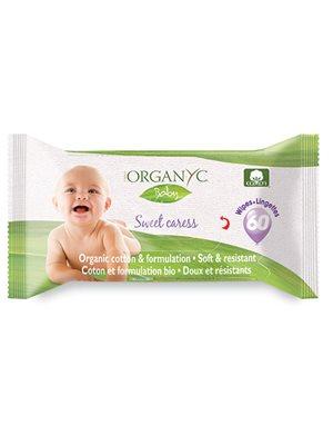 Organyc vådservietter Baby