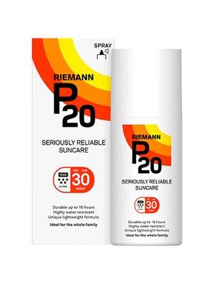 P20 solbeskyttelse SPF 30  spray