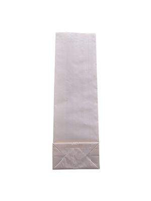 Papirpose hvid 265x80x45 mm