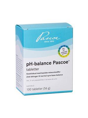 pH-balance tabletter
