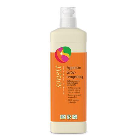 Power rengøring appelsin Sonett