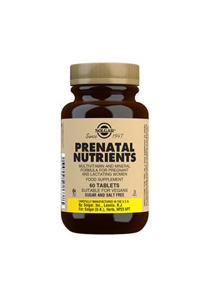 Prenatal mulitvitamin for  gravide