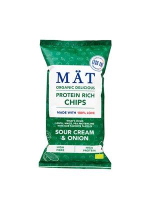 Protein rich chips, sour cream Ø & onion