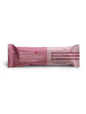 Proteinbar Hindbær Ø