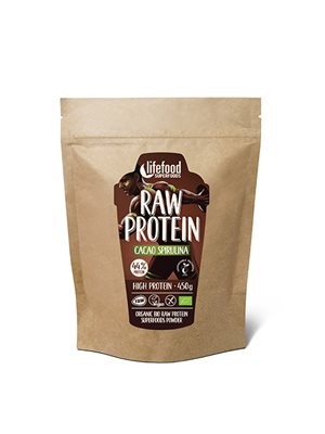Proteinpulver Kakao SpirulinaØ Superfood RAW