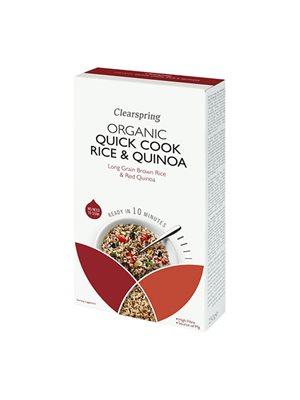 Quick Cook Ø lange brune ris & quinoa