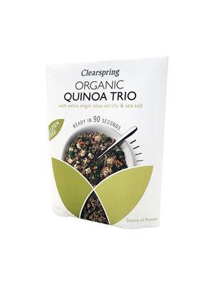 Quinoa trio Ø m. olivenolie &  havsalt