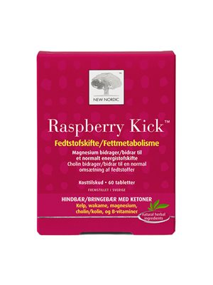 Raspberry Kick fedt- og kalorieforbrænding