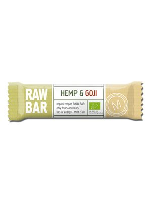 Raw Bar Hemp & Goji Ø