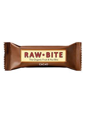 Rawbite Cacao Ø glutenfri frugt- og nøddebar