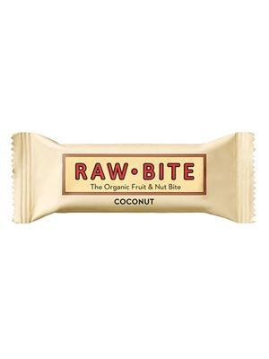 Rawbite Coconut Ø glutenfri frugt- og nøddebar