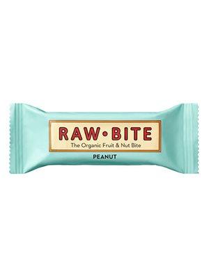 Rawbite Peanut Ø glutenfri frugt- og nøddebar