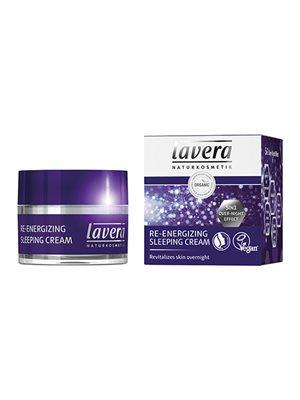 Re-energizing sleeping cream