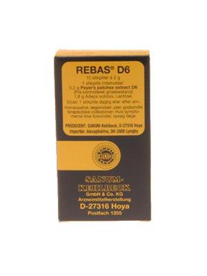 Rebas D6 stikpiller
