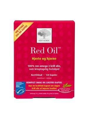 Red Oil omega 3 krill olie