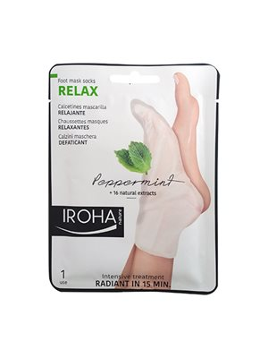 Relax foot mask peppermint Iroha