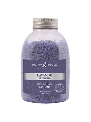 Relaxing Bath Salts Lavande Altitude